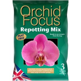 Orchid Focus Repotting Mix Bag 3 Litre
