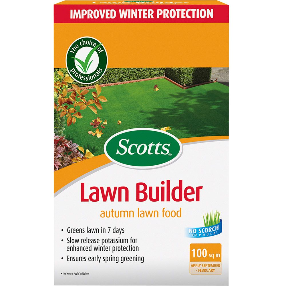 Scotts Autumn Lawn Lawnbuilder 100m2 Feed And Weed