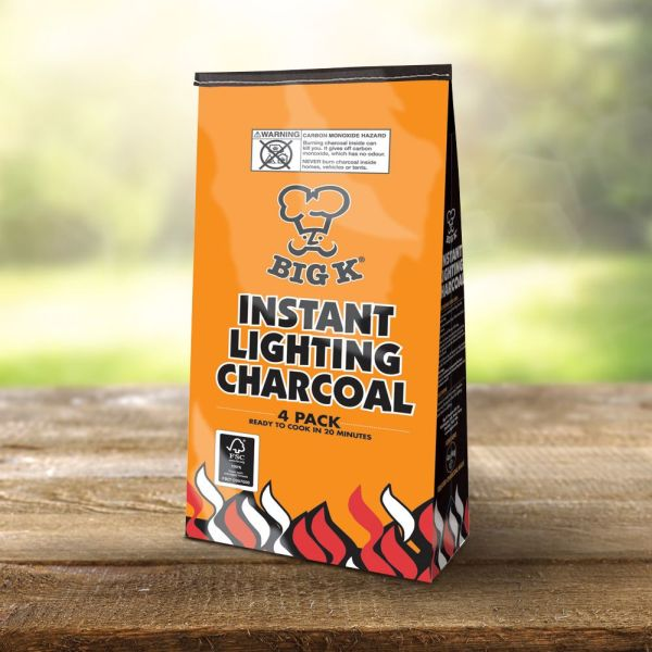 Instant Lighting Charcoal (x4)