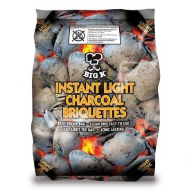 Instant Lighting Charcoal Briquettes 1.5kg