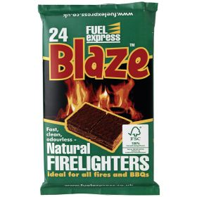 Natural Firelighters - 24 Block