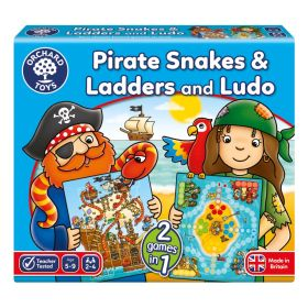 Pirate Snakes & Ladders and Ludo