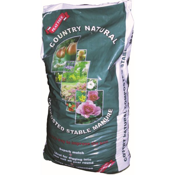 Country Natural Organic Stable Manure 80 Litre