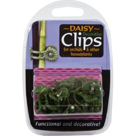 Orchid Clips - Daisy Design 12 Pack