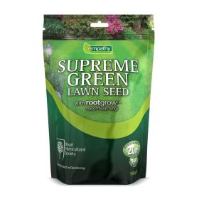 Supreme Green Lawn Seed With Rootgrow