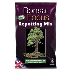 Bonsai Focus Repotting Mix Bag 2 Litre