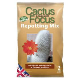 Cactus Focus Repotting Mix Bag 2 Litre