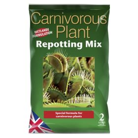 Carnivorous Plant Repotting Mix Bag - 2 Litre