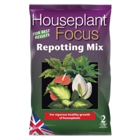 Houseplant Focus Repotting Mix Bag 2 Litre