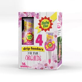 Baby Bio Orchid Drip Feeders 40ml 4 Pack