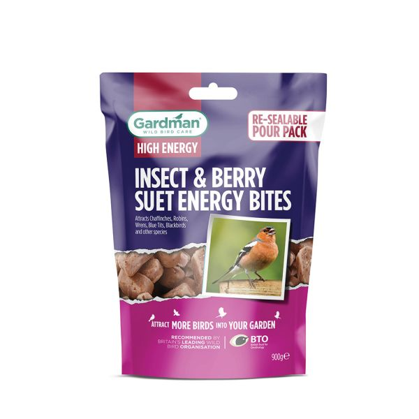 Gardman Insect And Berry Suet Energy Bites