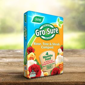 Gro-sure Rose, Tree & Shrub Compost 50 Litre