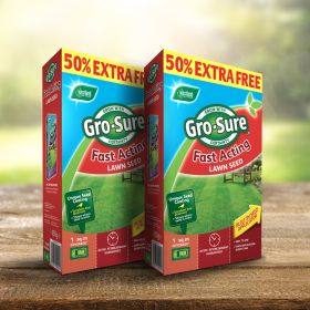 Gro-Sure Fast Acting Lawn Seed 10m2 + 50% Free