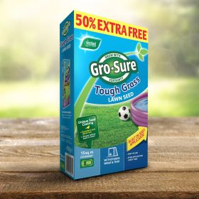 Gro-Sure Tough Lawn Seed 10m2 + 50% Extra Free