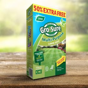 Gro-Sure Multi Purpose Lawn Seed 10m2 + 50%
