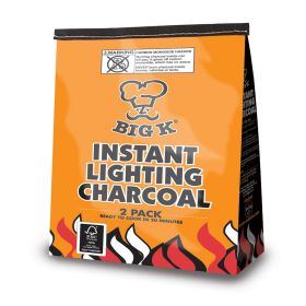 Instant Light Charcoal 2x1kg