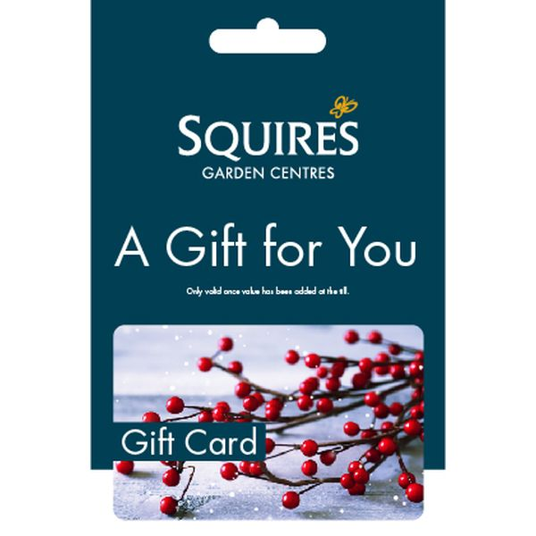 Squire's Gift Card - Winter Berries