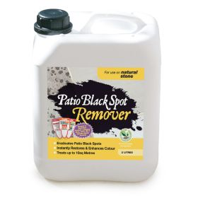 Patio Black Spot Remover- Natural Stone 2 Litre