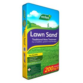 Lawn Sand 2 Traditional Moss Treatment Bag 200sqm