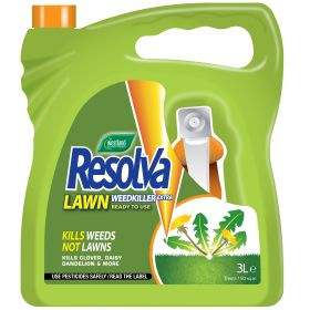 Resolva Lawn Weed Killer Extra Ready To Use 3 Litre