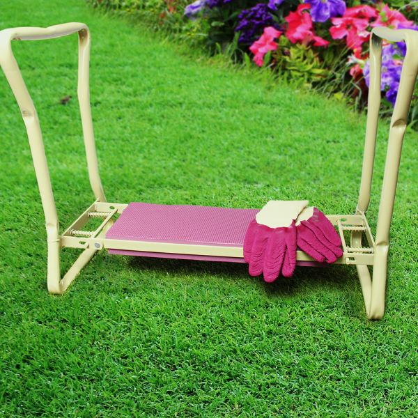 Squires Kneeler Stool & Glove