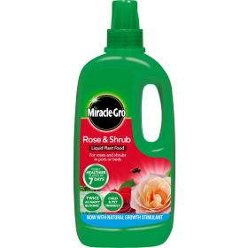Miracle-Gro Rose & Shrub Liquid Plant Food 1 Litre