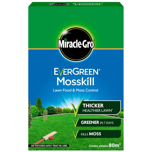 Miracle Gro Evergreen Mosskill - 80m2 - Feed and Weed