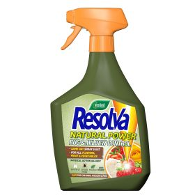 Resolva Natural Power Bug & Mildew- Ready to Use  1 Litre