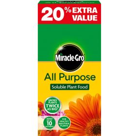Miracle-Gro All Purpose Plant Food 1kg + 20% Extra Free