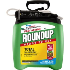 Roundup Fast Action - Ready To Use Pump n Go Weed Killer 5 Litre