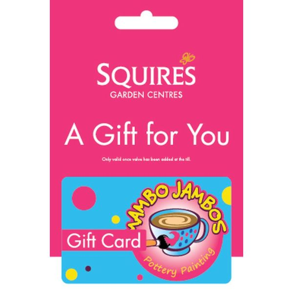 Squire's Mambo Jambos Pottery Painting Gift Card