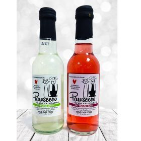 Luxury Pawsecco Rose Wine for Dogs & Cats 250ml