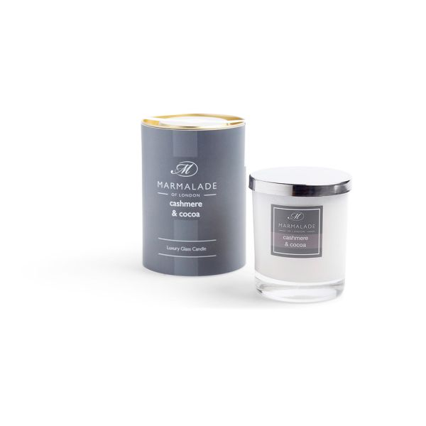 Cashmere & Cocoa - Glass Candle