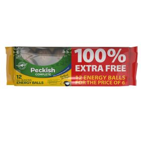 Peckish Complete Energy Balls 6 pack + 6 Free