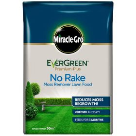 Miracle Gro Evergreen No Moss No Rake 50m