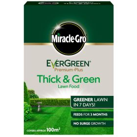 Miracle Gro Evergreen Premium Plus Lawn Food 100m2