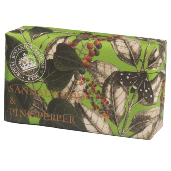 Sandlewood & Pink Pepper Luxury Shea Butter Soap