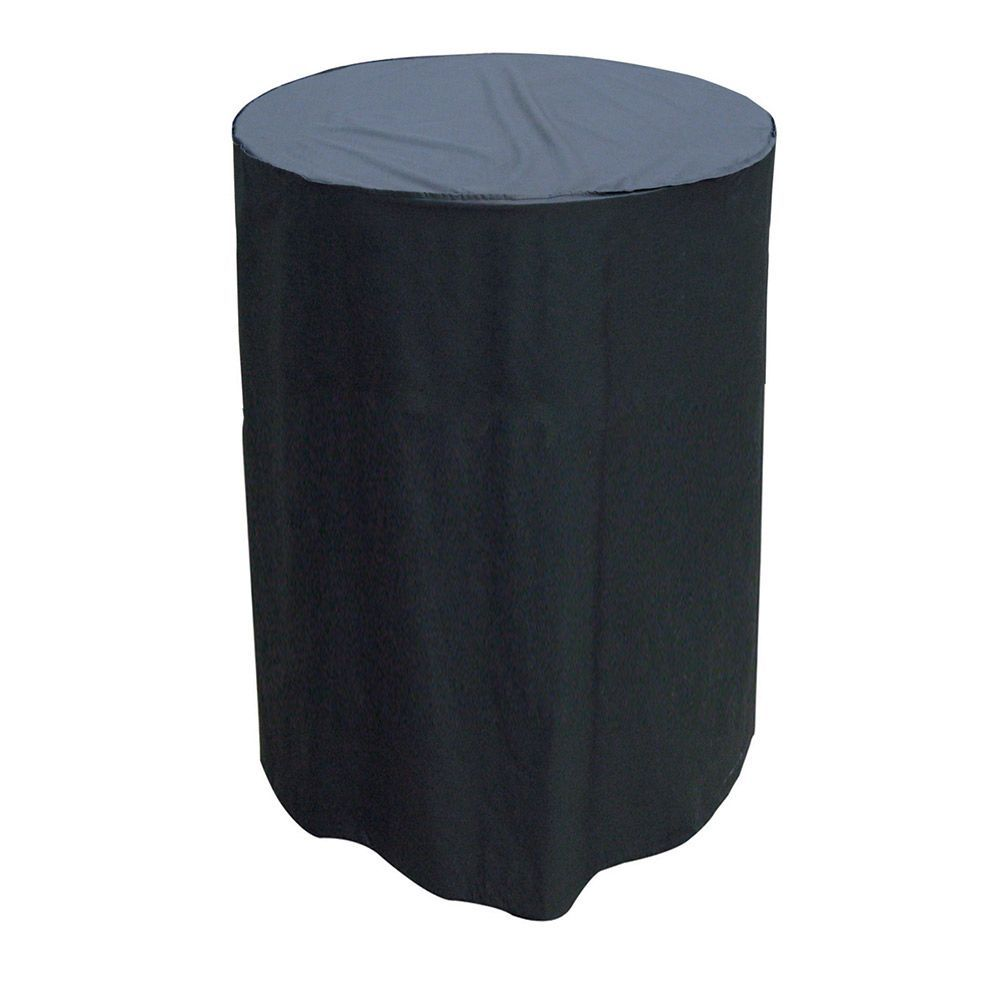 Larger View. Single Hanging Chair Cover Black