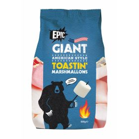 BBQ Giant Marshmallows - Toastin' Marshmallows 600g