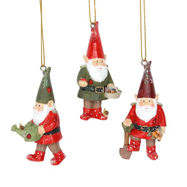 resin garden gnome decorations