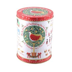 12 Days Of Christmas Rotating Tin 150g