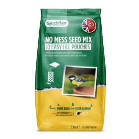 Gardman No Mess Seed Mix Easy Fill Pouches 2.8kg