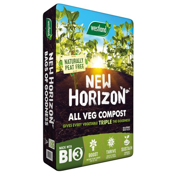 New Horizon Vegetable Growing Compost 50 Litres