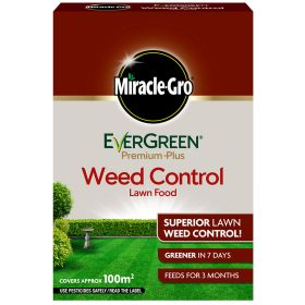 Miracle Gro Evergreen Premium Plus Feed & Weed 100m