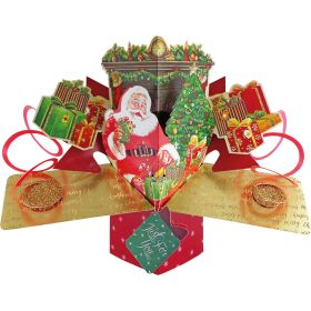 Just For You Santa Pop Up Card