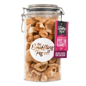 Snaffling Pig - Pigs in Blankets Crackling - Large Jar 275g