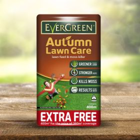 Evergreen Autumn 360sqm + 10% Extra Free