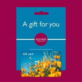 Squire's Gift Card - Flowers