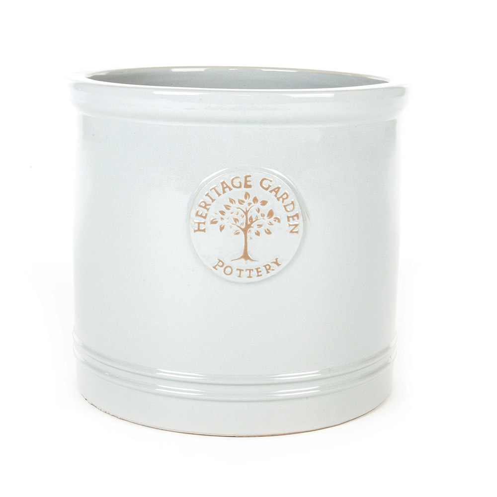 Heritage Cylinder Pots Glazed Squires Garden Centres
