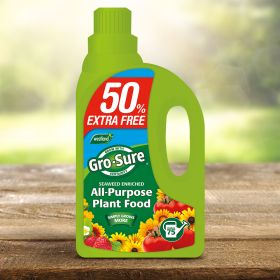 Gro Sure All Purpose Plant Food - 1 Litre + 50% Free